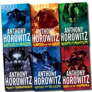 List Of  Kids Anthony Horowitz Books