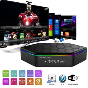 Android tv boxes sale T95ZPLUS with iptv 3gb ram 32 GB storage