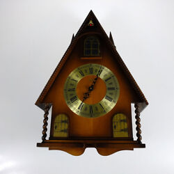Cuckoo Clock Mfg Co LINDEN 8-DAY CLOCK BLACK FOREST STYLE RINGING WA... Lot 2041