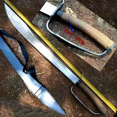 New Martial arts sword KUNG-FU Broadsword High manganese steel blade sharp #4254