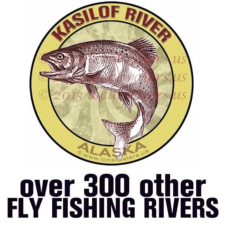 Steelhead Salmon Fishing Vinyl Sticker Decal *FREE SHIPPING*