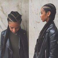TRESSES AFRICAINE & Greffe, Cils /visite ma page
