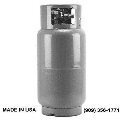 FORKLIFT LPG STEEL PROPANE TANK LP FORK TRUCK CYLINDER 33.5 lbs 8 Gallon -CHEAP