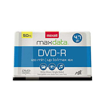 MAXELL 635053/638011 4.7GB DVD-Rs