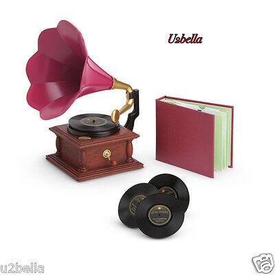 American Girl Rebecca's Phonograph Set BEFOREVER NEW IN BOX!