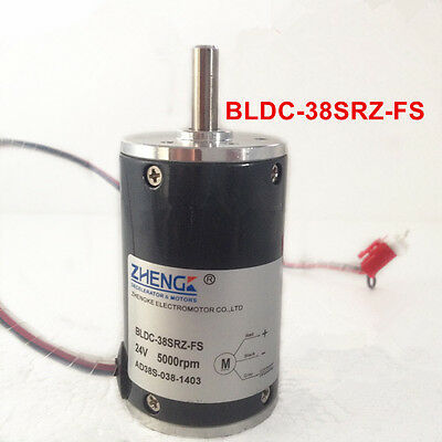 Bldc-38srz-fs 5000rpm 24v Dc Geared Motor Brushless Constant Speed Motor