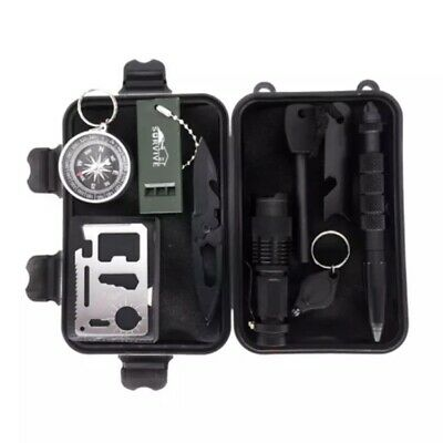 Survival Kit / Outdoor , Military, Camping Gear .Emergency Survival tools kit