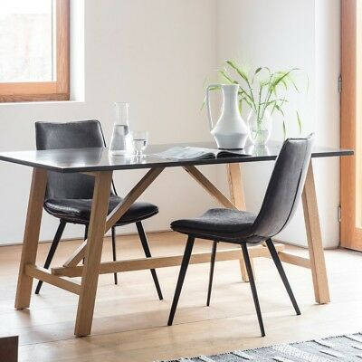 Frank Hudson Gallery Direct Brixton Burnished Dining Table
