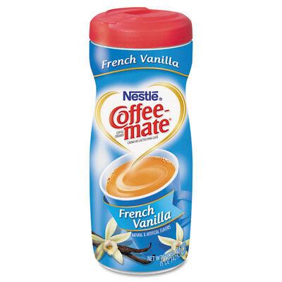 Coffee-mate French Vanilla Creamer Powder 15oz Plastic Bottle 35775 Fat Free French Vanilla Creamer