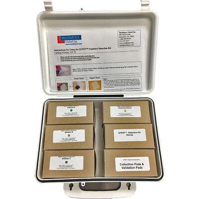 QTEST Explosive Detection Identification Field Test Kit (50 tests)