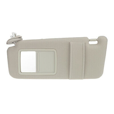 Ivory Driver Left Sun Visor for 2009-2016 Toyota Venza w/ Sunroof 74310-0T022-A1