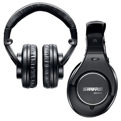 Shure SRH840 Closed-Back Pro Monitor Headphones SRH 840