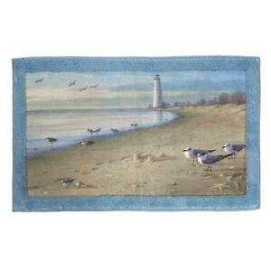 Nautical-Ocean-Beach-Scene-Bath-Bathroom-Rug-Mat