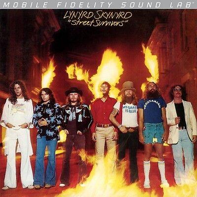 Lynyrd Skynyrd   Street Survivors   Mobile Fidelity Sound Lab Lp   New