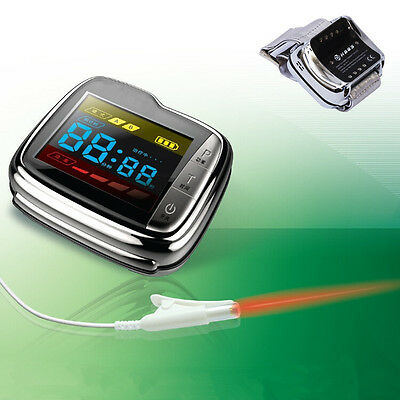 NEW 11 diodes Wrist Soft Laser Therapy blood glucose LLLT Physiotherapy