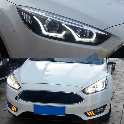 Headlights Front Per With Bi Xenon Projector For Us Stock Ford Focus 2017 Up