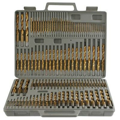 115pc Titanium Drill Bit Set w/ Index Case Number Letter Fractional $0 SHIPPING! - Set Number