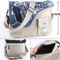 Tracolla Attack On Titan Bag Purse Sacca Zaino L'attacco Dei Giganti Backpack 1 - titan - ebay.it