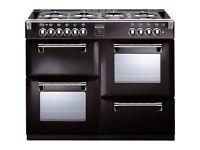 Stoves Richmond 1000DFT Rang Cooker Black
