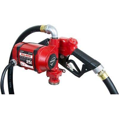 New Fill-rite Nx3210b Dc Fuel Transfer Pump W 20 Telescoping Pipe 25 Gpm