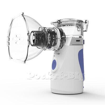 Mini Portable Ventilator Travel Rechargeable Inhaler Respirator Oxygen Mask Kits