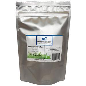Ammonium Sulfate - 1 Pound - 99% Pure