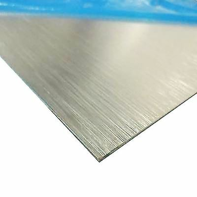 Brushed Anodized Aluminum Sheet Thickness 0.025 X 12 X 12
