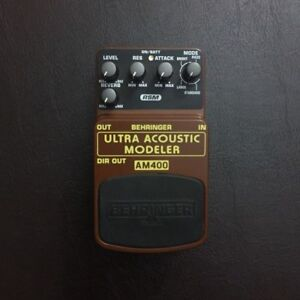 Behringer Acoustic Simulator AM400 Guitar Pedal $60 OBO