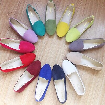 - Ladies Shoes Ballet Flats Women Flat Shoes Large Size Casual Shoe Womens Loafers