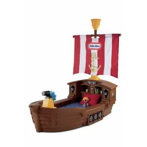 Little tykes pirate ship toddler bed