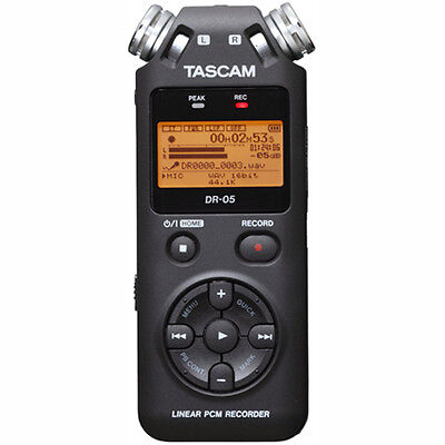 Tascam DR-05 - Portable Digital Recorder