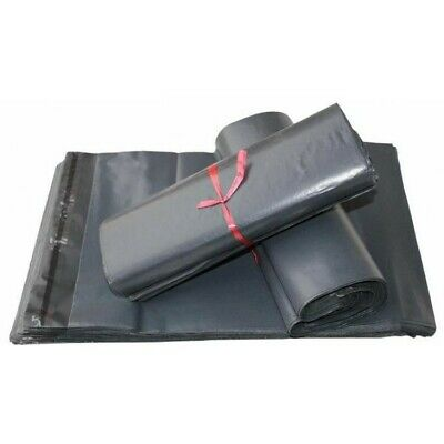 500 X Strong Grey Mailing Post Mail Postal Bags Poly Postage Self Seal 6