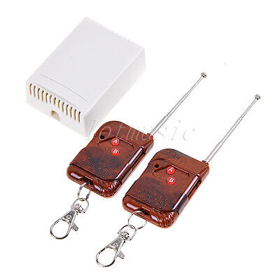 12v 2 Channel Wireless Remote Control Receiver Momentary Switch Relay 2 Remote