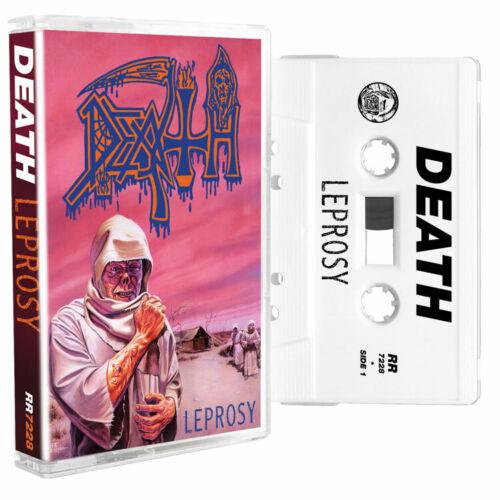 DEATH Leprosy Cassette White NEW Relapse Records CS7228R