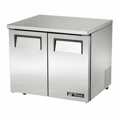 True Tuc-36-lp-hc 36 W Undercounter Refrigerator W 2 Sections 2 Doors
