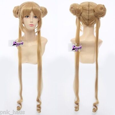 Sailor Tsukino Usagi/Sailor Moon kill me baby Sonia Cosplay Haare Blond Kostüme