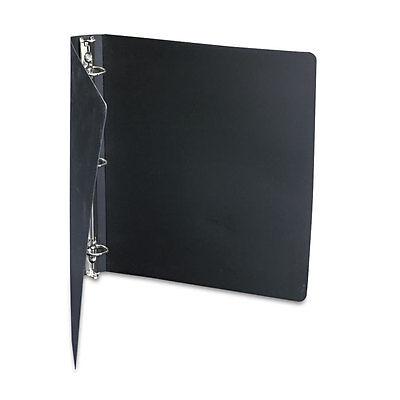 Acco Flexible Accohide Round 3 Ring Binder 8.5x11 220 Sheet Cap. Black