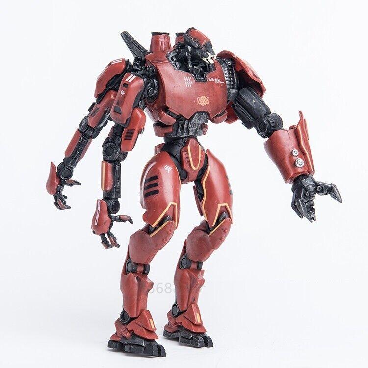 "NECA Pacific Rim Jaeger Crimson Typhoon 7/"" Action Figure Toys Collectible Robot"