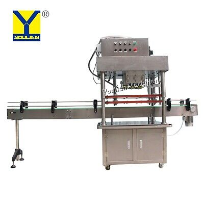 Automatic Disinfectant5 Gallon Bottle Capping Machine Fast Speed With Elevator
