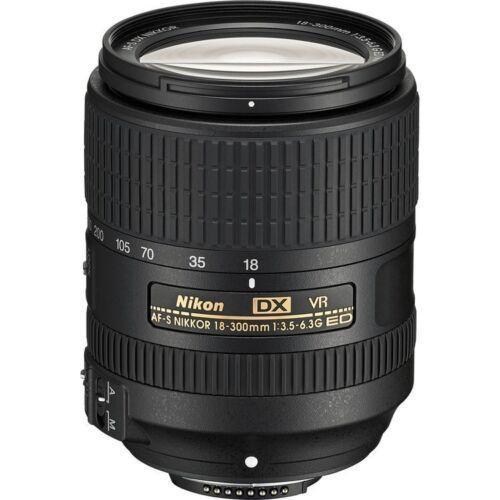 Купить Nikon - Nikon AF-S DX NIKKOR 18-300mm f/3.5-6.3G ED VR Lens
