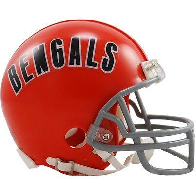 NFL Football Mini Helm Helmet CINCINNATI BENGALS Throwback 1968-79 OVP Riddell