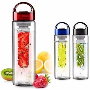 10X WATER BOTTLE FRUIT INFUSIONS 700ML BPA FREE  BRAND NEW Strathfield Strathfield Area Preview