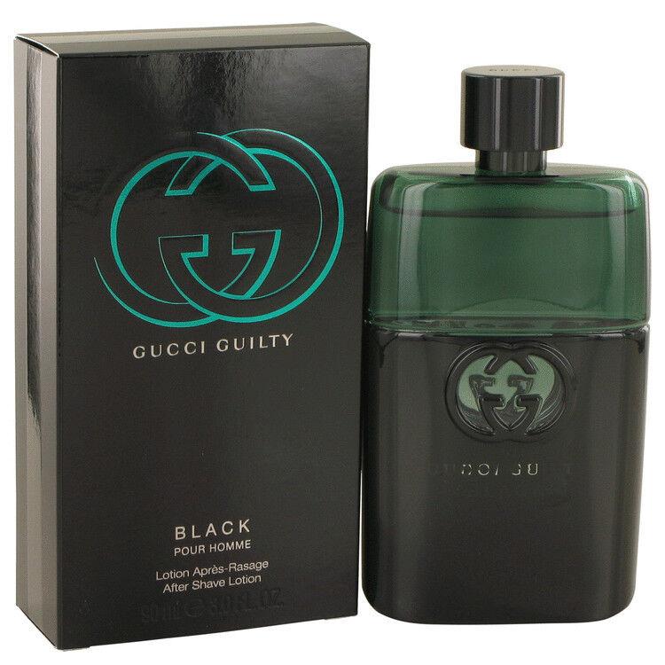 Gucci Guilty Black Pour Homme After Shave Men 3 Oz Afters...