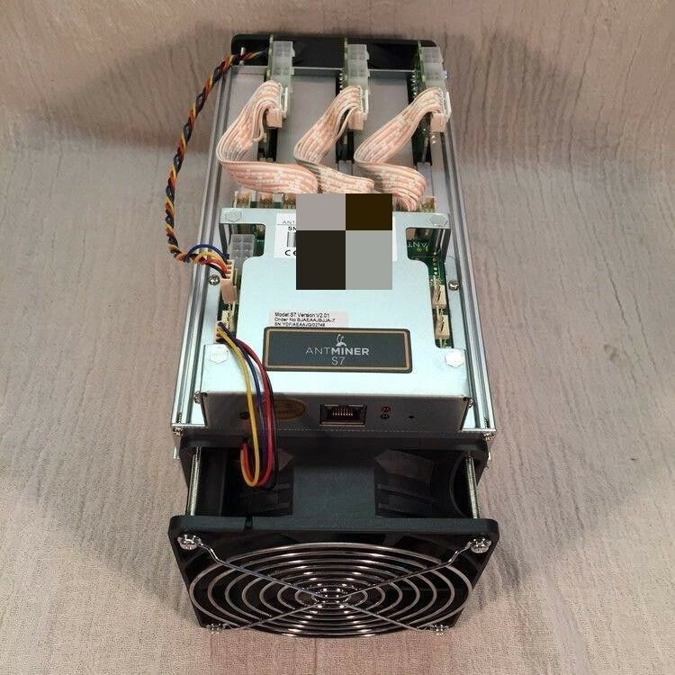 BITMAIN ANTMINER S7 BATCH 9 BITCOIN MINER - TH/s USED WITH WARRANTY - EUR ,30 | PicClick IT