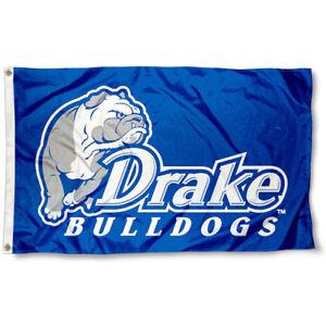 DRAKE BULLDOGS FLAG 3'X5' NCAA DRAKE UNIVERSITY BANNER: FAST FREE SHIPPING