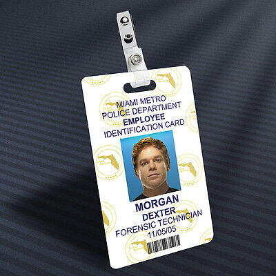 Dexter - Dexter Morgan Prop ID Badge
