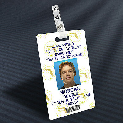 Dexter - Dexter Morgan Prop ID Badge