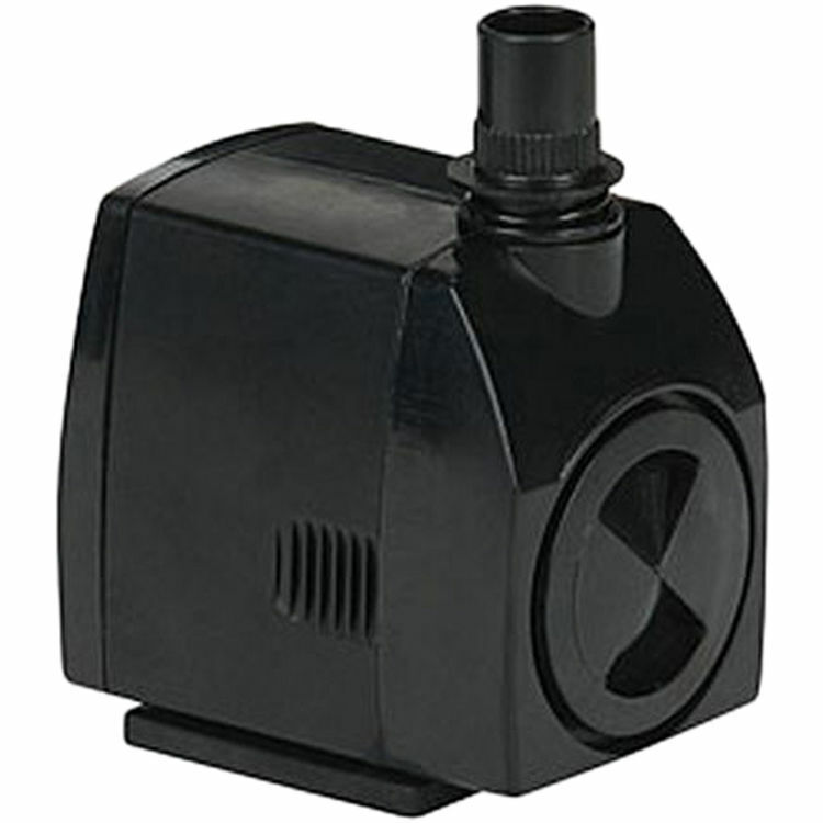Little Giant 566717 Magnetic Drive Statuary Fountain Pump, 300 gph, 23 W, 115