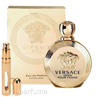 Versace EROS Pour Femme Eau de Parfum *BIG Refillable Travel Atomiser 12ml Spray