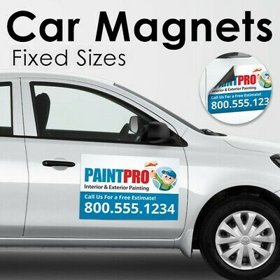 Custom Car Magnets Magnetic Auto Truck Signs 2-18x24